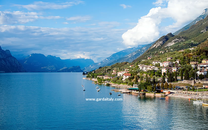 A view of Lake Garda