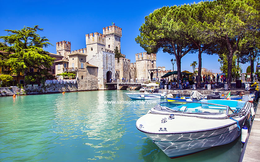 The Scaliger fortress at Sirmione